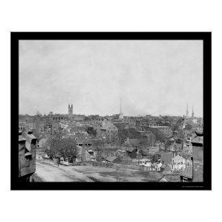 Richmond, VA 1865 Poster
