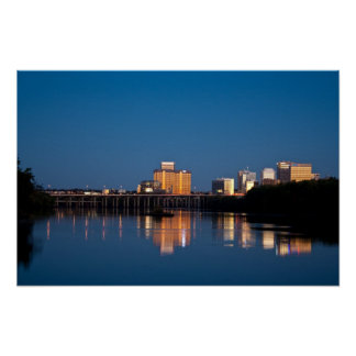 Richmond, VA  River City Poster