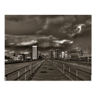 Richmond VA Skyline Postcard