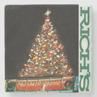 Rich's Downtown Tree, Atlanta Marble Stone Coaster
