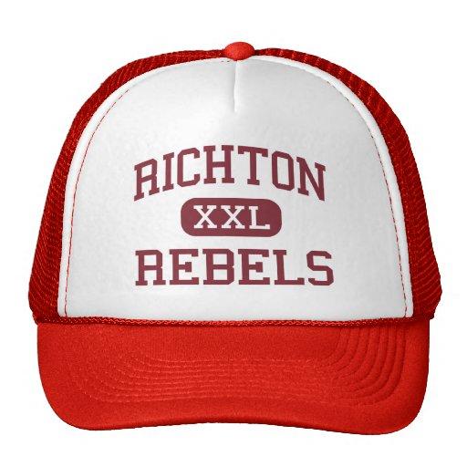 Richton - Rebels - Middle - Richton Mississippi Hat