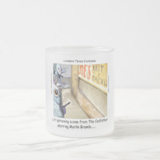 Rick London Fish Mafia Frosted Mug