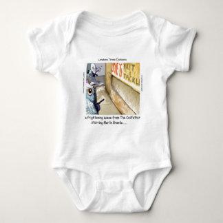 Rick London Fish Mafia Funny Gifts Baby Bodysuit