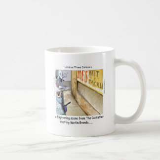 Rick London Fish Mafia Funny Gifts Coffee Mug