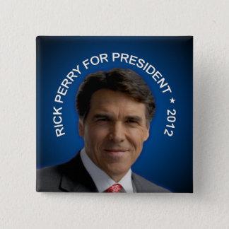 Rick Perry 2012 15 Cm Square Badge