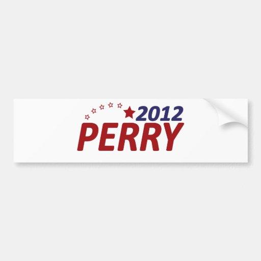 Rick Perry 2012 Star Bumper Sticker