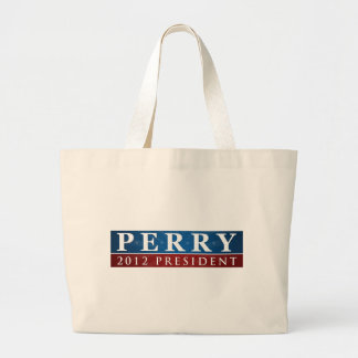 RIck Perry 2012 Tote Bags