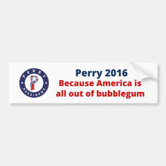 Rick Perry for President Bumper Sticker