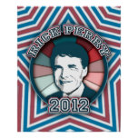 Rick Perry in 2012 Poster