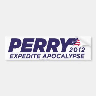 Rick Perry Parody Bumper Sticker