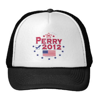 Rick Perry President 2012 Hats