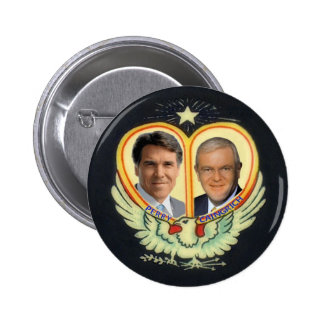 Rick Perry's Dream Ticket 6 Cm Round Badge