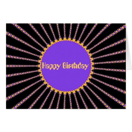 Rick Rack (Happy Birthday) Card