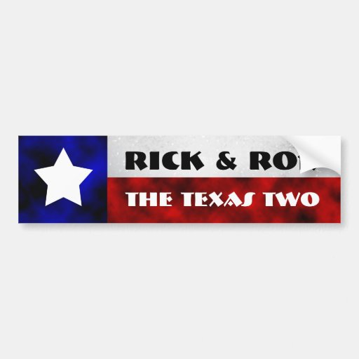 Rick & Ron Bumper Sticker