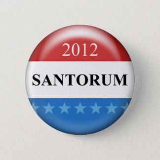 Rick Santorum 2012 6 Cm Round Badge