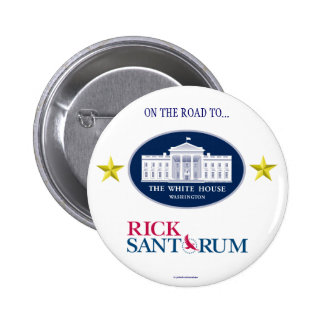 RICK SANTORUM 2012 political pinback button