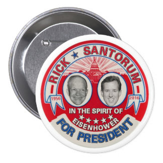 Rick Santorum 2016 7.5 Cm Round Badge