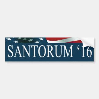 Rick Santorum 2016 Bumper Sticker
