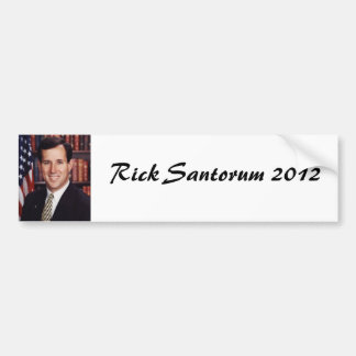 Rick Santorum Bumper Sticker