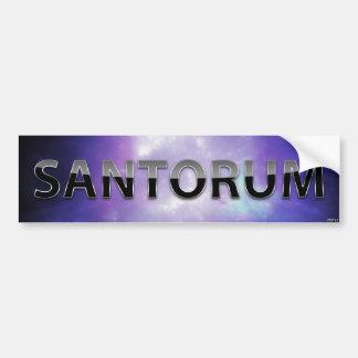 Rick Santorum Car Bumper Sticker