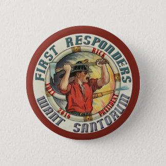 Rick Santorum for President 2016 6 Cm Round Badge
