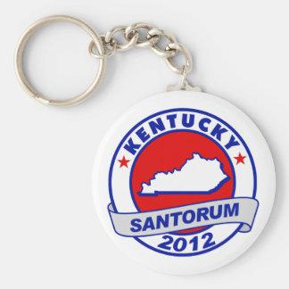 Rick Santorum Kentucky Basic Round Button Key Ring