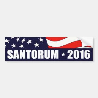 Rick Santorum President 2016 Bumper Sticker