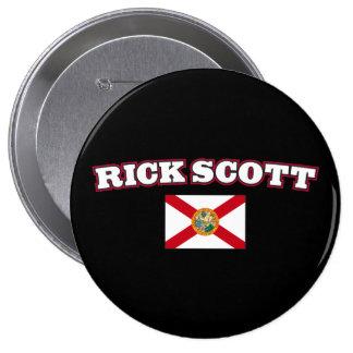 Rick Scott for Florida Governor 10 Cm Round Badge