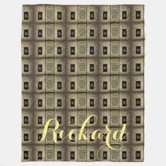 Rickard Coat of Arms Fleece Blanket