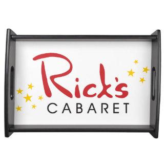 Rick's Cabaret Serving Tray