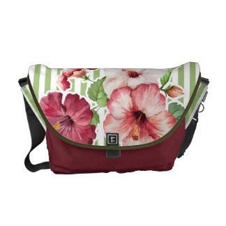 "Rickshaw Bag ""Flower & Stripes"" Var01 Commuter Bags"
