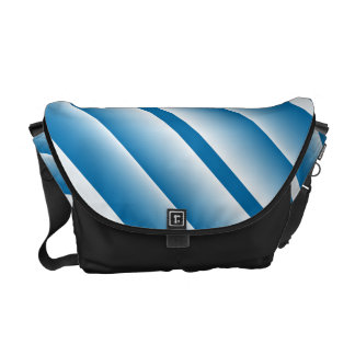 Rickshaw Blue Stripe Bag Courier Bags