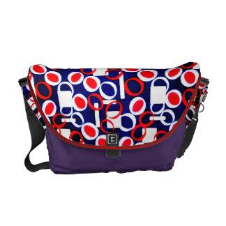 ۞»Rickshaw Geometrical Pattern Messenger Bag«۞