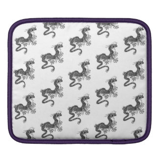 Rickshaw iPad sleeve with kanji symbol for luck
