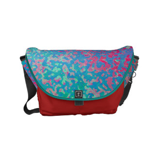 Rickshaw Messenger Bag Colorful Corroded