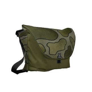 RICKSHAW messenger bag Custom camo print bag