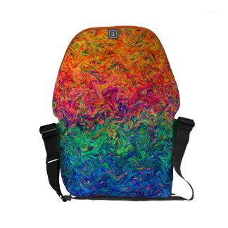 Rickshaw Messenger Bag Fluid Colors