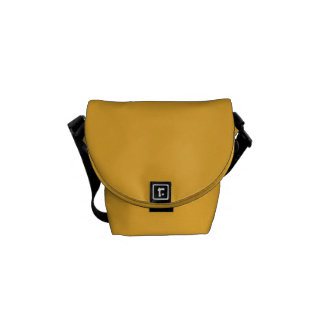 Rickshaw Messenger Bag, mini, Yellow, stripes Messenger Bag
