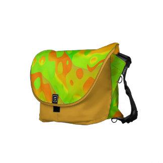 Rickshaw Messenger Bag Orange Lime Messenger Bag