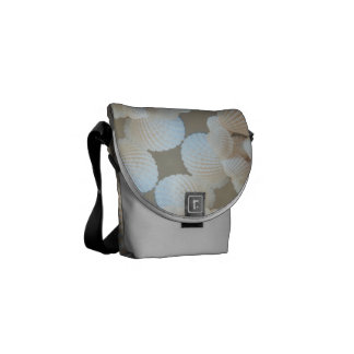 Rickshaw Messenger Bag, Sunny Summer Sea Shells Courier Bags