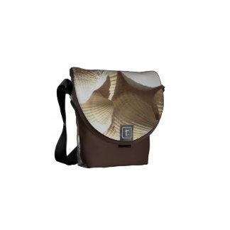 Rickshaw Messenger Bag, Sunny Summer Seashells Commuter Bag