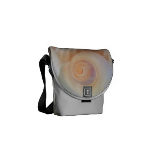 Rickshaw Messenger Bag, Sunny Summer Seashells Courier Bags