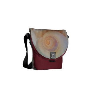 Rickshaw Messenger Bag, Sunny Summer Seashells Messenger Bag
