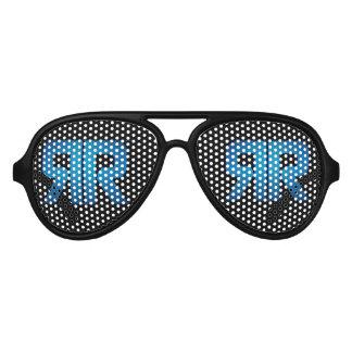 Ricky Rebel Black and Blue Sunglasses