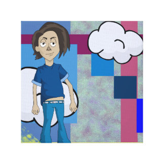 Rico is the coolest guy on the block. canvas prints