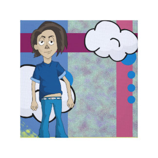 Rico is the coolest guy on the block. stretched canvas prints