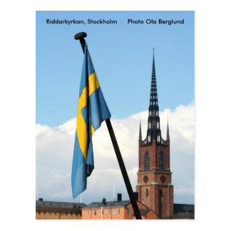 Riddarkyrkan, Stockholm, Photo Ol... Postcard