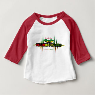 Riddim Roots Radio Baby 3/4 Sleeve Raglan T-Shirt