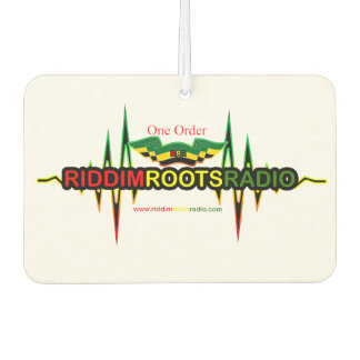 Riddim Roots Radio Car Air Freshener