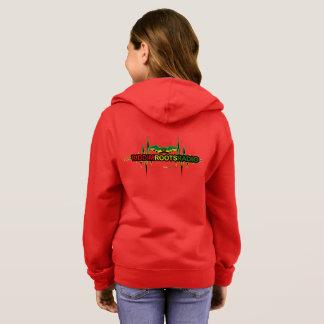 Riddim Roots Radio Girl's Basic Zip Hoodie
